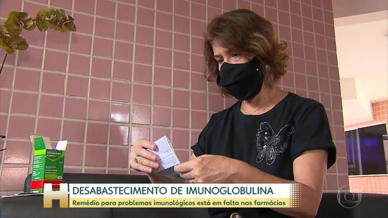 Falta de imunoglobulina nas farmácias estaduais preocupa quem precisa
