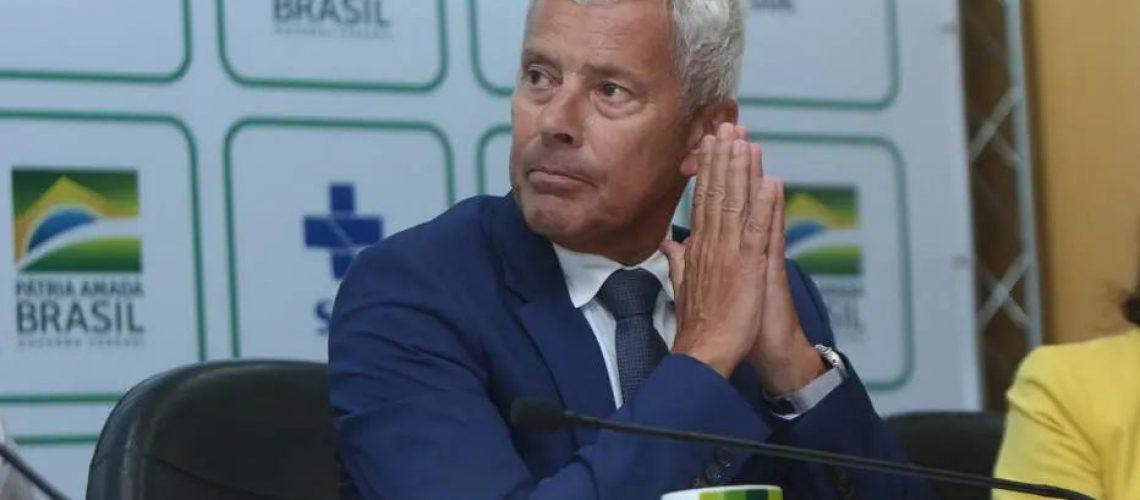João Gabbardo dos Reis, secretário executivo do Ministério da Saúde, acredita em liberação pela Anvisa  Foto: Erasmo Salomao/MS